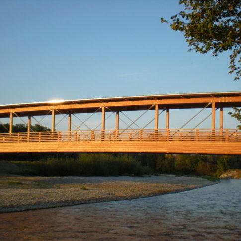 radwegbrücke leitha